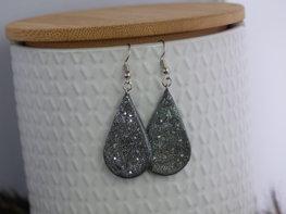 Handmade druppel oorbellen - Let's sparkle