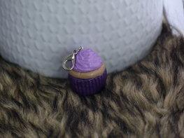 Handmade cupcake bedel - Purple