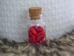 Handmade gift - Bottle of love