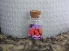 Handmade gift - Bottle of love mix