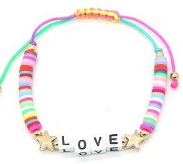 Katsuki armband love star - Multi