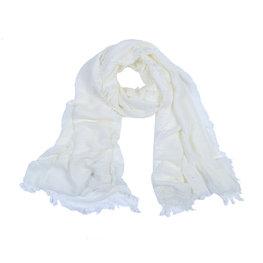 Sjaal Fine Knit - Wit