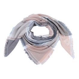Sjaal blocks - Roze