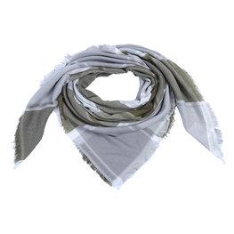 Sjaal blocks - Groen