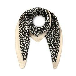 Silky feel sjaal animal - Beige