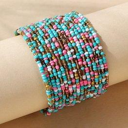 Armband boho pastel