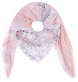 Sjaal stars/stripes - Roze
