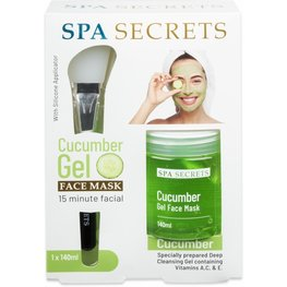 Spa Secrets cucumber face mask