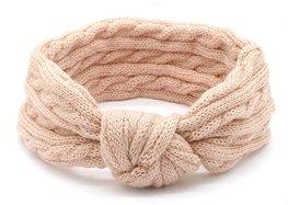 Headband knot - Oud Roze