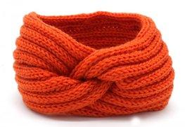 Headband twist - Oranje
