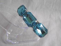 Klemarmband - turquoise