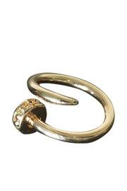Spijker ring goud