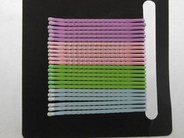 Schuifspeldjes pastel paars/roze/groen/blauw