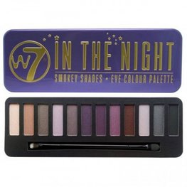 W7 In The Night Oogschaduw Palette