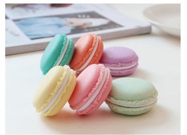 Macaron opbergdoosjes/sieraden doosjes