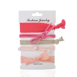 Ibiza elastiekjes - Hair tie - parel ( div kleuren)