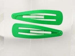 Haarspeldjes / Klik klak speldjes Groen