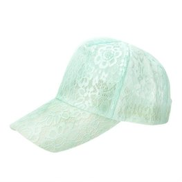 Cap / pet  kant Mint groen