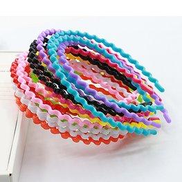 Haarband golfjes - div kleuren