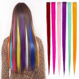 Hair extensions gekleurd