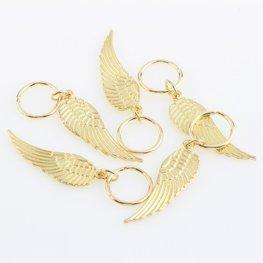 Haar Piercings vleugel - Goud