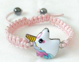 Armband eenhoorn/unicorn -Licht Roze