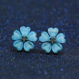 Oorknopje bloem - Blauw