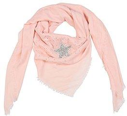 Sjaal strass star - Roze