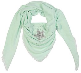 Sjaal strass star - Mint groen