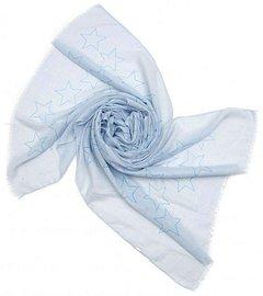 Sjaal stars - blauw