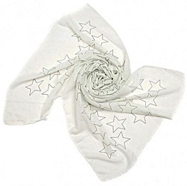Sjaal stars - Wit