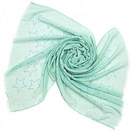 Sjaal stars - Groen