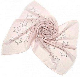 Sjaal stars - Roze