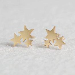Oorknopjes Stars - Goud