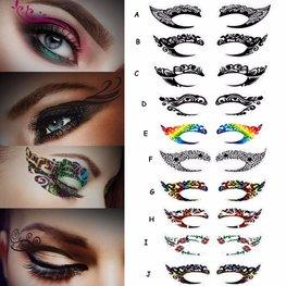 Oog tattoo - Kleuze uit div soorten