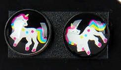 Oorknopjes unicorn #1