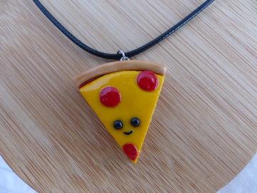 Handmade Ketting - Pizza punt