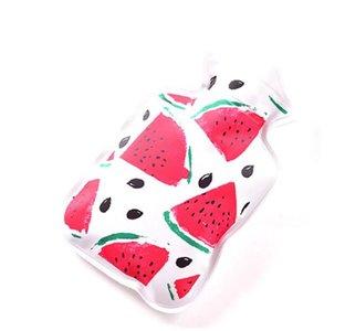 Handwarmer kruikje wit met watermeloen print