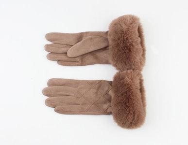 Handschoenen furr - Caramel
