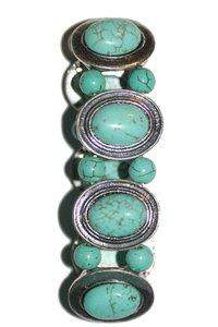 Elastische armband met edelsteen