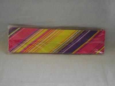 Elastische haarband roze/paars/geel/wit