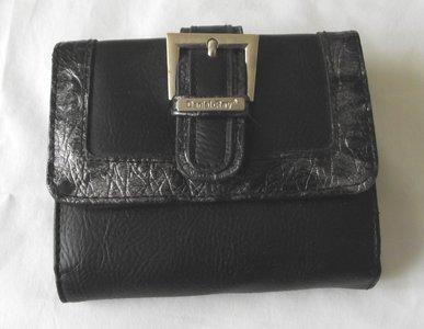 Mooie zwarte daniel ray portemonnee