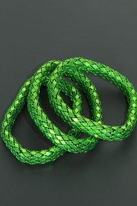 Elastische armband - groen