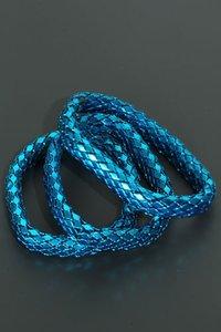 Elastische armband - blauw