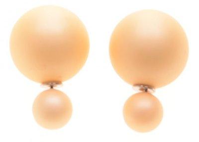 Double dots Mat geel