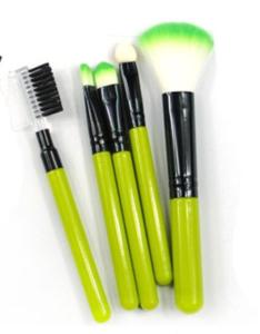 Make-up kwasten set 5 delig groen
