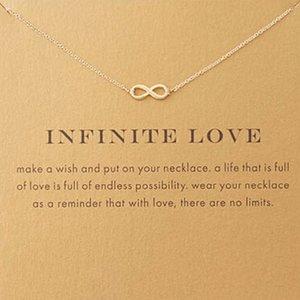 """Giftcard met ketting """"Infinite love"""""""