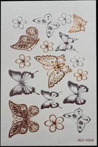 Flash tattoo  Vlinders