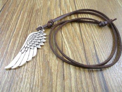 Ketting met vleugel hanger