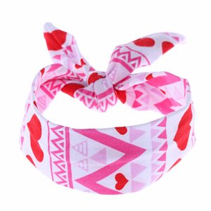 Baby/kinder Knoop haarband hearts